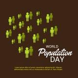 Światowej populaci dzień Obraz Royalty Free