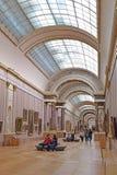 Światowi ` s arcydzieła obraz w louvre muzeum w Paryż, Francja zdjęcia stock