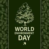 Światowy środowisko Day-02 ilustracja wektor