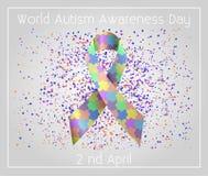 Światowy autyzm świadomości dzień Obrazy Royalty Free