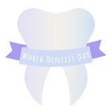 Światowy dentysty dzień Zdjęcia Stock