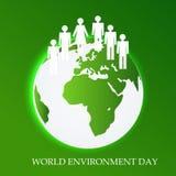 Światowy Envirnoment dzień Zdjęcia Stock