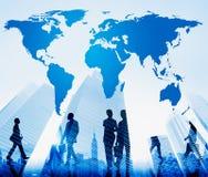 Światowy Globalny kartografia globalizacja ziemi pojęcie fotografia royalty free