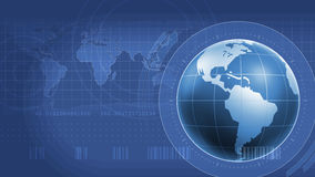 Światowy Infographics interfejs Obrazy Stock