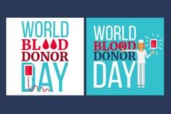 Światowy Krwionośnego dawcy dzień Zdjęcia Royalty Free