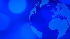 Światowy kuli ziemskiej technologii tło royalty ilustracja