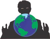 Światowy lider royalty ilustracja