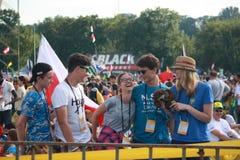 Światowy młodość dzień Fotografia Stock