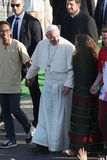Światowy młodość dzień 2016 - pope Francis Obraz Stock