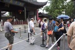 Światowy Międzynarodowy Muzealny dzień, Dacheng Hall wykłada up dla gości odwiedzać przyciągania uwalniają ładunek obrazek Obraz Stock