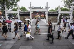 Światowy Międzynarodowy Muzealny dzień, Dacheng Hall wykłada up dla gości odwiedzać przyciągania uwalniają ładunek obrazek Obraz Royalty Free