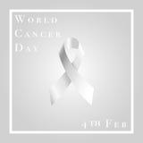 Światowy nowotworu dzień Obraz Royalty Free