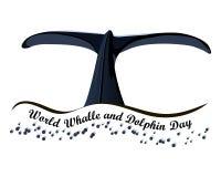 Światowy wieloryba i delfinu dzień Lipiec 23 Zdjęcie Royalty Free