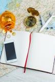 Światowy wycieczki planowanie budżet i marszruta fotografia stock