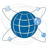 światowy związek z internetu royalty ilustracja