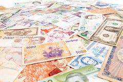 Światu papieru bank zdjęcia royalty free