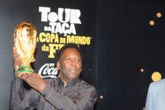 Światu wielki futbolista Pelé zdjęcie royalty free