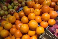 Świeża żółta pomarańcze Zdjęcie Royalty Free