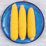 Świeża Żółta Słodka kukurudza Obrazy Royalty Free