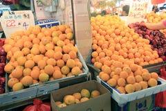 Świeża żywność rynek w Hong kong Zdjęcie Royalty Free