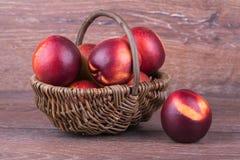 Świeża brzoskwinia Fotografia Stock