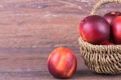 Świeża brzoskwinia Zdjęcia Stock