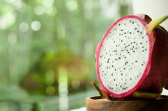 Świeża cała i przyrodnia smok owoc Zdjęcie Royalty Free