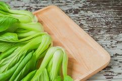 Świeża Chińska kapusta lub Boka Choy warzywo Obrazy Stock