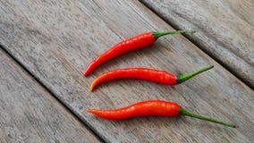 świeża chili czerwień Zdjęcia Stock