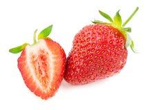 Świeża czerwona truskawka Zdjęcia Royalty Free
