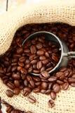 świeża fasoli aromatyczna kawa Obraz Stock