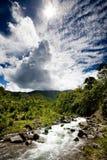 świeża halna rzeka Fotografia Royalty Free