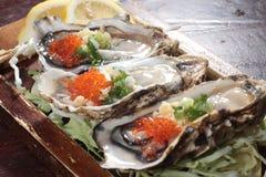 Świeża i smakowita owoce morza kuchnia Zdjęcia Royalty Free