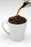 świeża kawa Zdjęcia Royalty Free