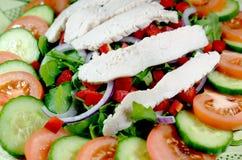 Świeża kurczak sałatka Fotografia Stock