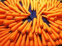 Świeża marchewka w sklepie spożywczym Tajlandia Obraz Royalty Free