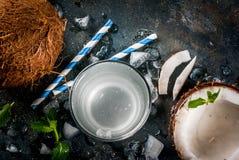 Świeża Organicznie koks woda Obraz Royalty Free
