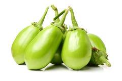 Świeża organicznie zielona oberżyna Obraz Stock