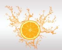 Świeża owoc Backround i Owocowy sok Royalty Ilustracja