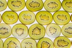 Świeża owoc pokrajać abstrakcjonistycznego bezszwowego deseniowego tło, zielony k Obrazy Royalty Free