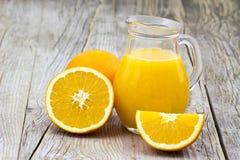 świeża owoc soku pomarańcze fotografia royalty free
