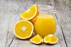 świeża owoc soku pomarańcze zdjęcie stock