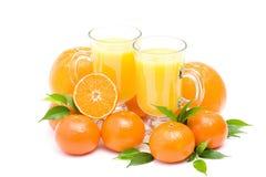 świeża owoc soku pomarańcze niektóre zdjęcia stock