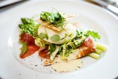 Świeża sałatka mozzarella Fotografia Stock