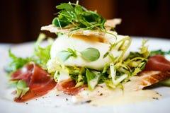 Świeża sałatka mozzarella Zdjęcie Stock