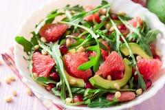 Świeża sałatka z, grapefruitowy, Obrazy Stock
