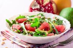 Świeża sałatka z, grapefruitowy, Fotografia Stock