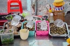 Świeża skorupa dla kulinarnego karmowego Vietnam stylu Obrazy Stock