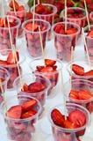 Świeża truskawka Zdjęcia Royalty Free