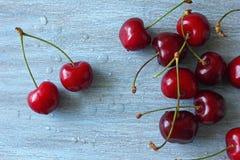Świeża wiśnia od ogródu Zdjęcia Stock